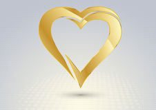 Valentine hearts for your design Royalty Free Stock Photos