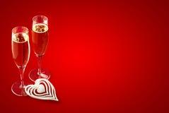 Valentine heureuse Photographie stock libre de droits