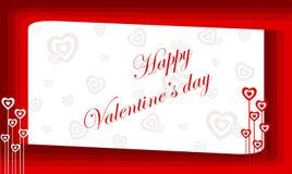 Valentine heureux Images libres de droits