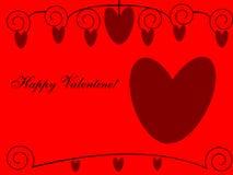 Valentine heureux ! Image libre de droits