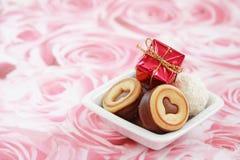 Valentine heureux Photos libres de droits