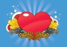 Valentine heureux Illustration de Vecteur