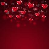 Valentine Hot Hearts Stock Image