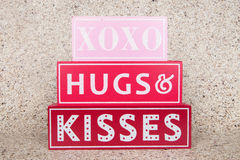Valentine Hugs Royalty Free Stock Images