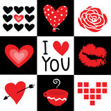 Valentine I Love You Sweetheart Cartoon Vector Royalty Free Stock Photography