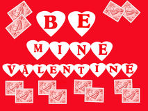 Valentine Illustration Stock Photo