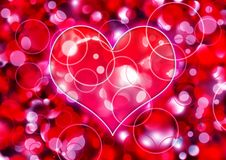 Valentine illustration Royalty Free Stock Images