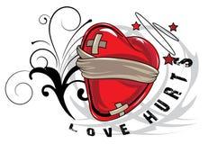 Valentine illustration Royalty Free Stock Photos