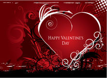 Valentine illustration Royalty Free Stock Photo