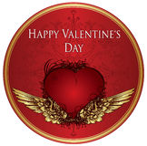 Valentine illustration Royalty Free Stock Photos