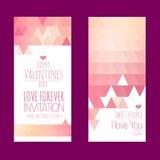 Valentine invitation card Stock Photos