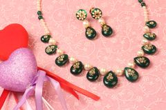 Valentine Jewellery Royalty Free Stock Images