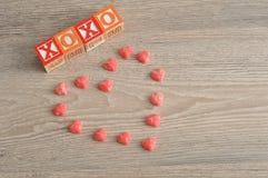 Valentine& x27 ; jour de s Photographie stock