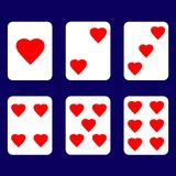 Valentine-kaart van liefde Royalty-vrije Stock Foto's