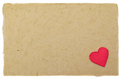 Valentine letter background Royalty Free Stock Photos