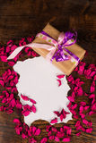 Valentine letter still life Royalty Free Stock Images