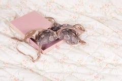 Valentine lingerie present Royalty Free Stock Image