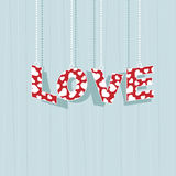 Valentine love Stock Images