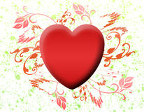 Valentine love card (06) stock images