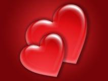 Valentine love card (09) stock image