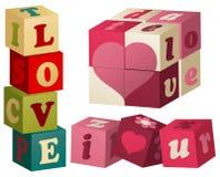 Valentine love games Stock Image