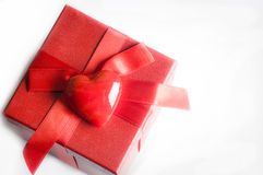 Valentine love gift Stock Photography