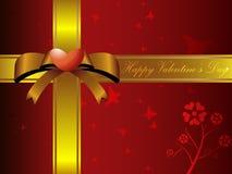 Valentine love gift box background. EPS 10 Vector Royalty Free Stock Photo
