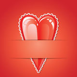 Valentine love heart Stock Photos