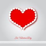 Valentine love heart Royalty Free Stock Image