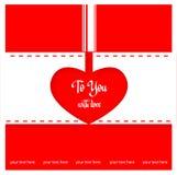 Valentine love heart Stock Photography