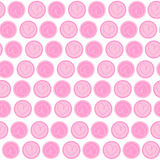 Valentine love heart pattern Royalty Free Stock Photo