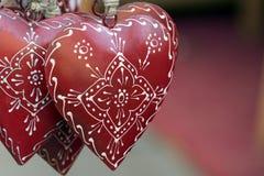 Valentine love heart Stock Photos