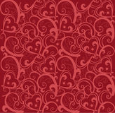 Valentine love pattern. Love pattern design for valentine celebration Stock Photography