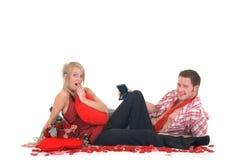 Valentine love, proposal Stock Photo