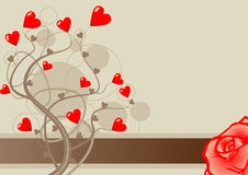Valentine love vector Royalty Free Stock Photography