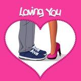 Valentine lover. Happy Valentines day Royalty Free Stock Photo