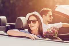 Valentine, lune de miel, a épousé la famille, amitié, voyage, détendent le ch Photographie stock