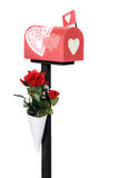 Valentine Mail Box Stock Image