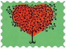 Valentine mark Royalty Free Stock Image
