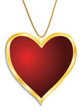 Valentine Medal Stock Photography