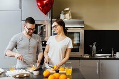 Valentine morning Stock Image