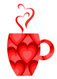 Valentine mug Royalty Free Stock Photos