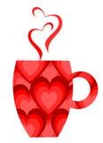 Valentine mug Royalty Free Stock Photos