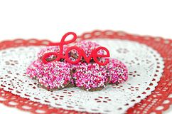 Valentine nonpareil Royalty Free Stock Photo