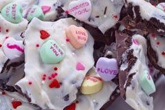 Valentine Oreo Bark Imagen de archivo