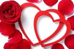 Valentine ornament Stock Photography