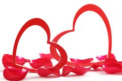 Valentine ornament Royalty Free Stock Images