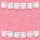 Valentine ornament Stock Images