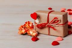 Valentine ou composition en vacances Image stock