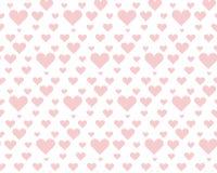 Valentine pale pink seamless polka dot pattern Stock Photos